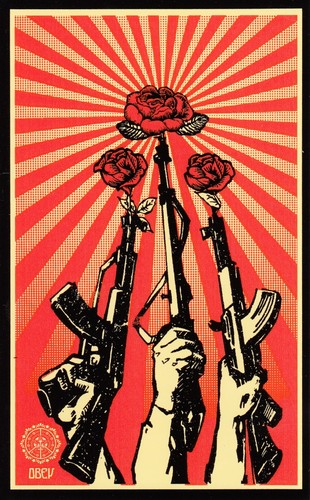 Obey-Guns-and-Roses-Sheppard-Fairey-kidrobot-Graffiti-Stickers
