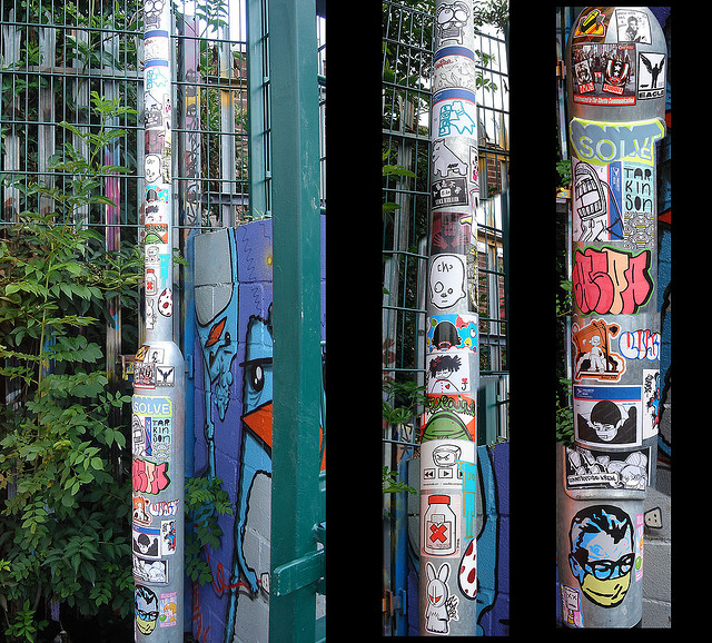 awesome-graffiti-stickered-pole