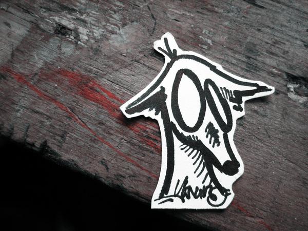 graffiti-sticker-dog