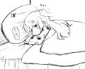 眠りガン子