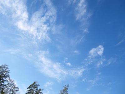 2013年元日の空