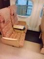 木質な座席