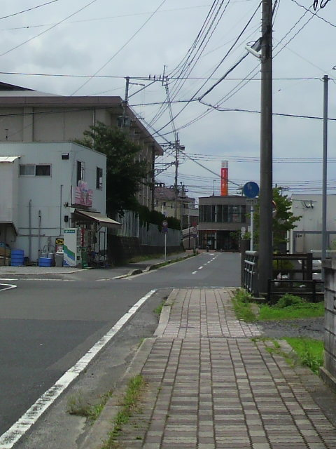 旧十号線から一つ山側の道です!