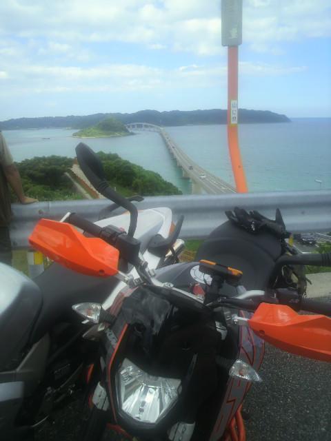 角島大橋とKMT