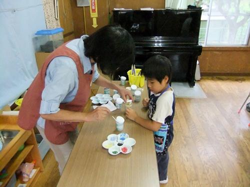 2012.9.7 親子陶芸(絵付け) 045 (2)