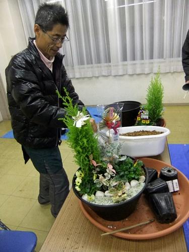 2012.12.19 寄せ植え教室 028