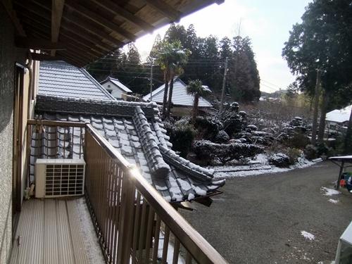 2014.2.4 初雪(自宅) 012