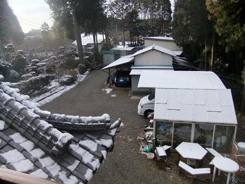 2014.2.4 初雪(自宅) 010