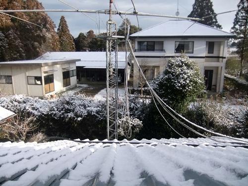 2014.2.4 初雪(自宅) 009
