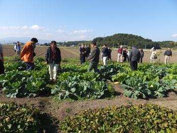 ふくおか体験農園現地見学2