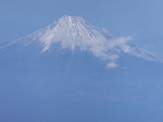 富士山見えた2