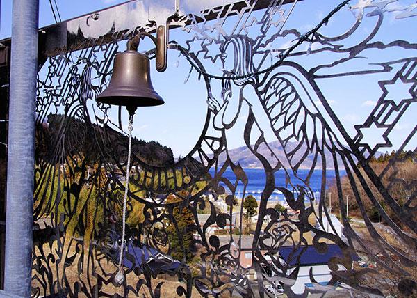恋し浜駅の鐘