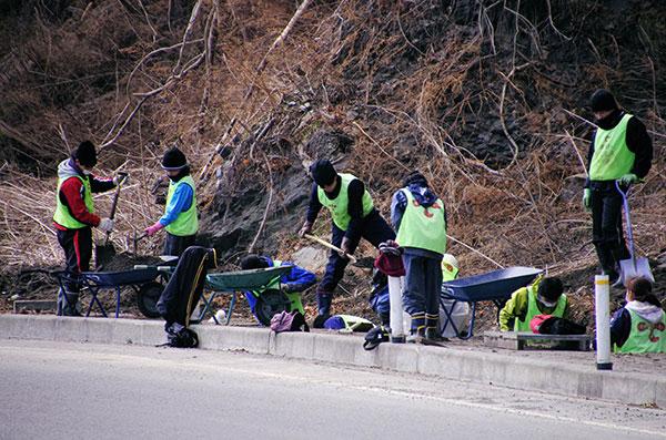 箱崎地区のボランティア活動