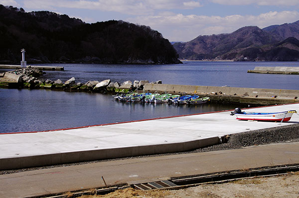 箱崎白浜の漁港