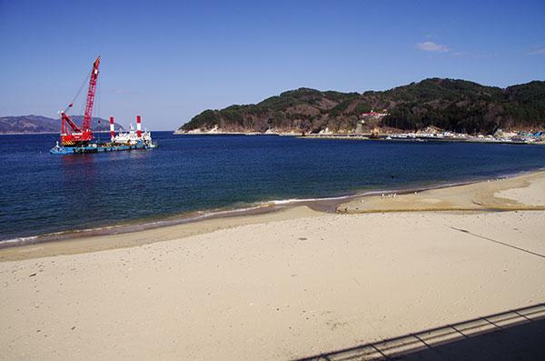 吉里吉里の海岸
