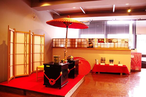 もりおか歴史文化館の喫茶部