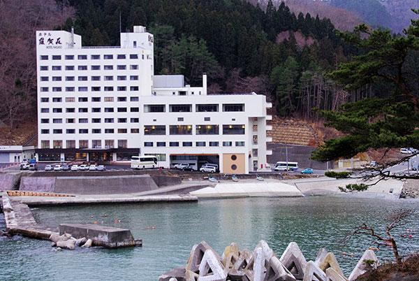 再開したホテル羅賀荘