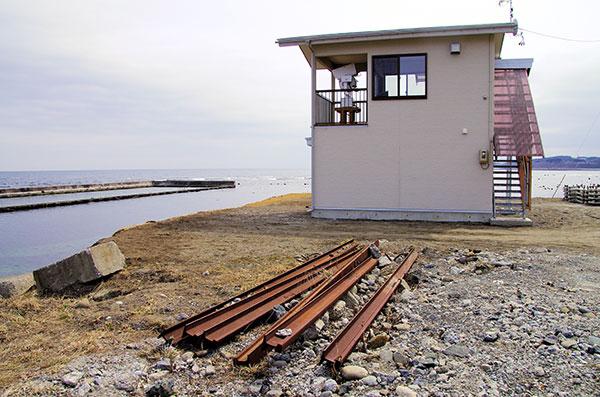 宿戸の密漁監視小屋