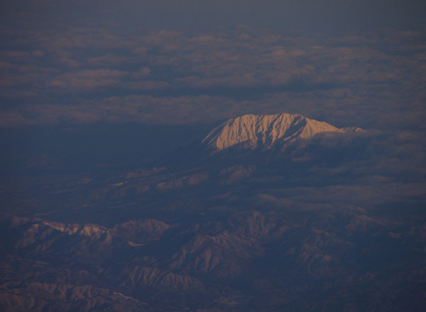 雲上の伯耆大山