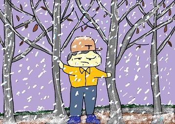 あ~あ雪だじゃ