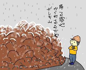 川柳:降る雪や