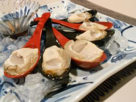 Oyster with Ponzu
