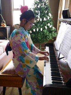 Yukata & practice