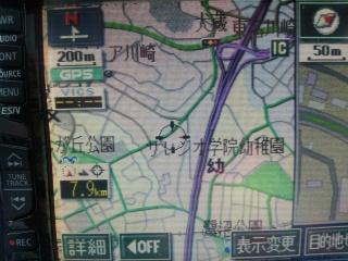 カーナビの地図データ更新②