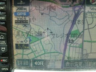 カーナビの地図データ更新①