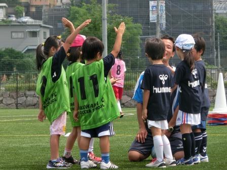 横浜FC親子サッカークリニック⑥