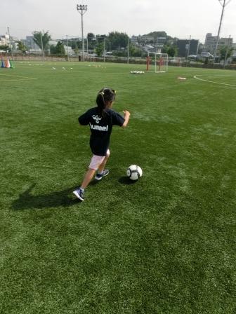 横浜FC親子サッカークリニック④