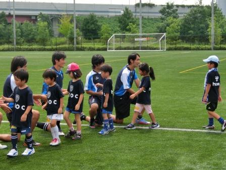 横浜FC親子サッカークリニック⑧