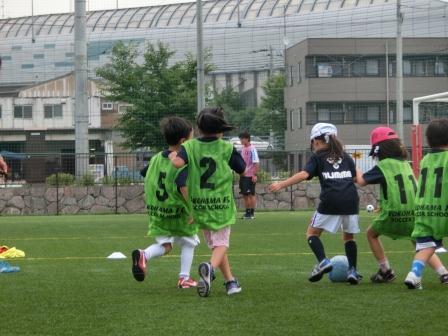横浜FC親子サッカークリニック⑦