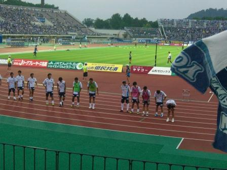 2012 J2第28節 山形vs横浜FC②
