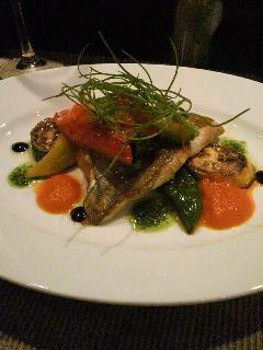 鯛とお野菜のグリル
