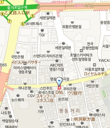 ONL_明洞1号店_map