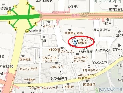 The Zoo Shop_オルカンパニー_明洞_map