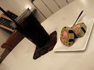 アイスコーヒースイカロール