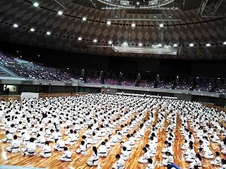少林寺拳法大阪中央体育館1
