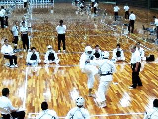 少林寺拳法大阪中央体育館2