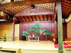 久良伎能舞台の能舞台