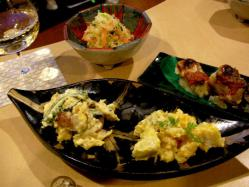 痴陶人の皿と料理
