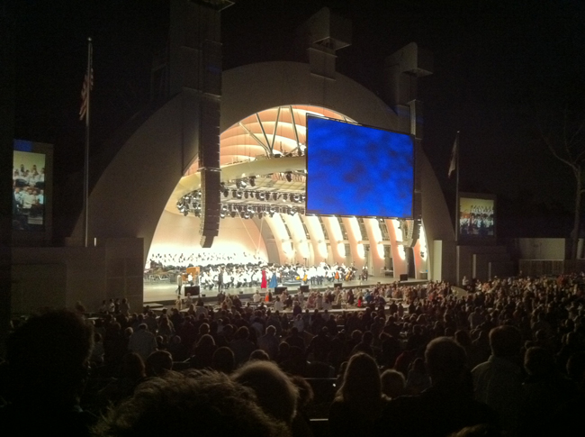hollywood bowl beethoven 9th