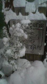 2013どんと祭の日大雪