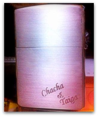 チャチャとタイガのネーム~超かわいい~