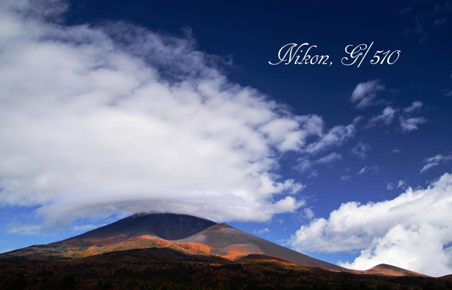 富士山の紅葉S