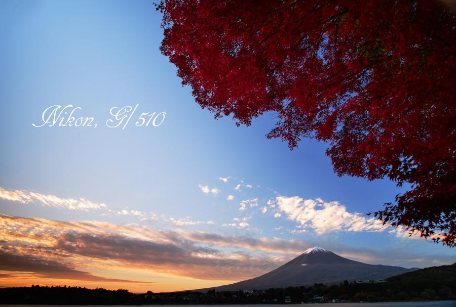 盛秋の夜明けs