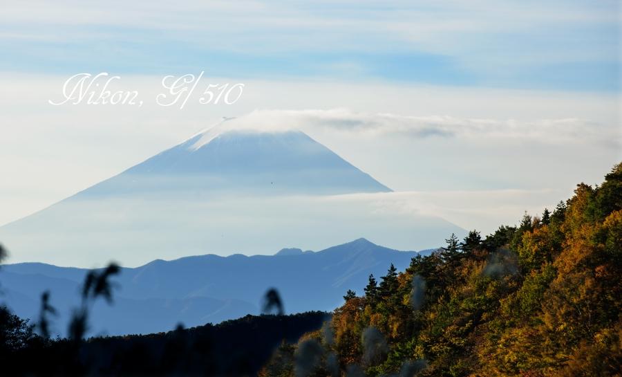 牧丘からの富士山 s