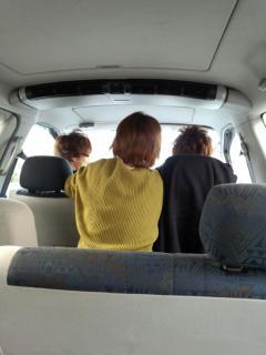 わいわい車内
