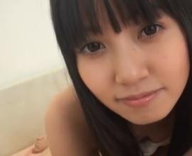 朝倉ことみ私服・制服・ブルマーで愛らしすぎるフェラから強制オナニーフェラFC2動画